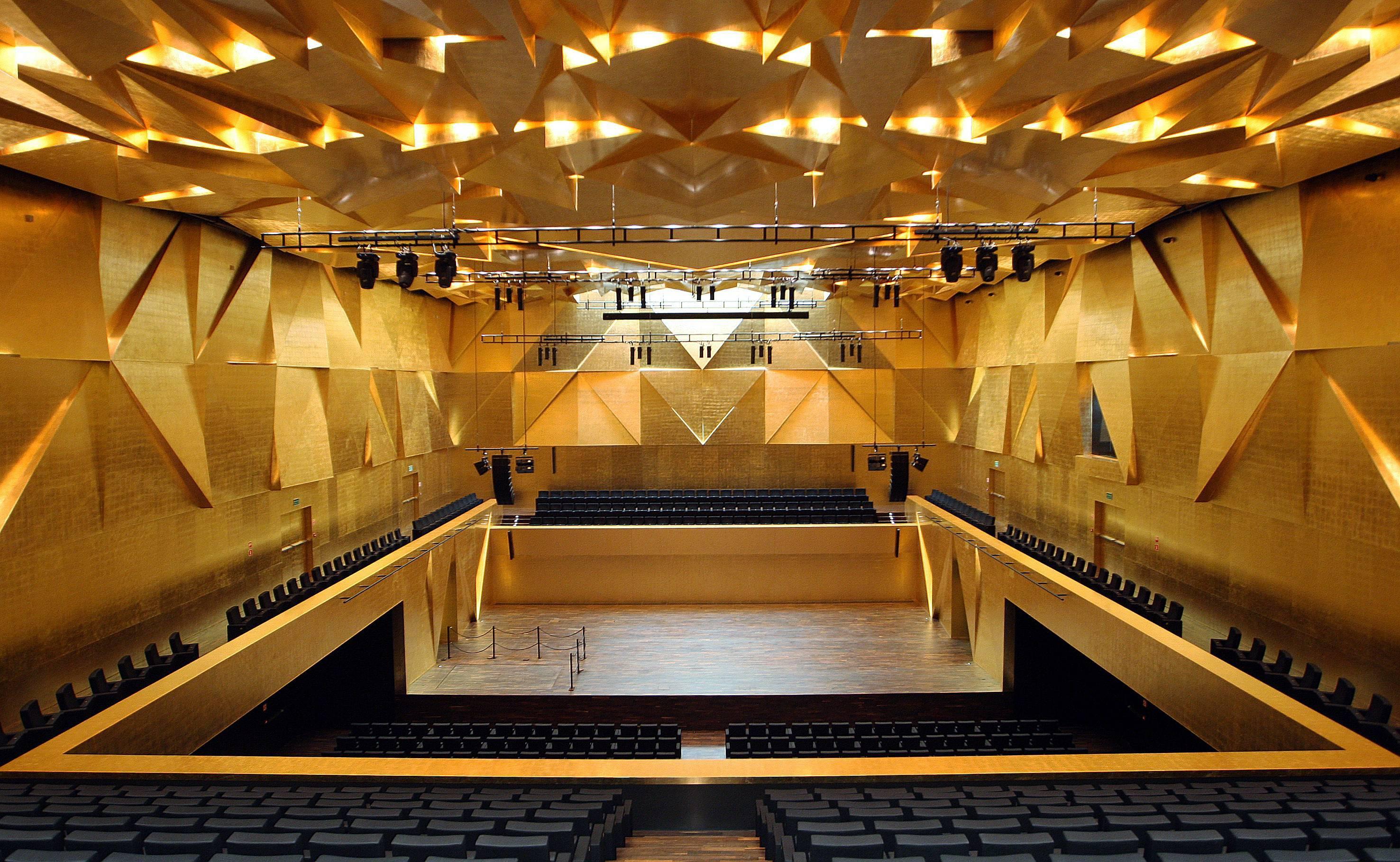 Philharmonic Hall In Szczecin Arcelormittal Europe