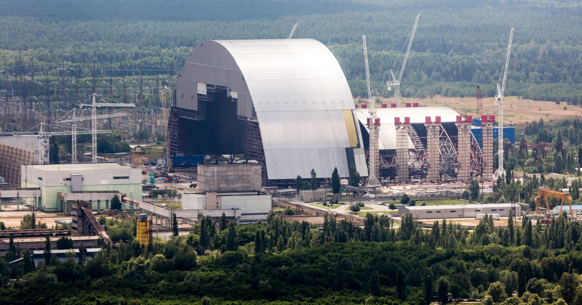 Arcelormittal Steel At The Heart Of The Chernobyl New Safe
